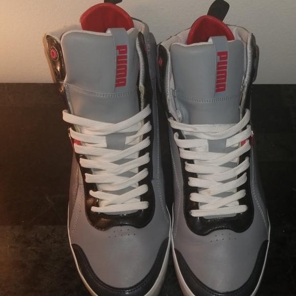 Puma Shoes | Retro Puma Hightops | Poshmark
